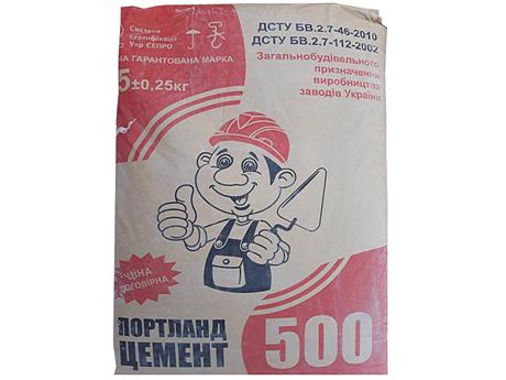 Цемент ПЦ II/А-Ш-500 25кг