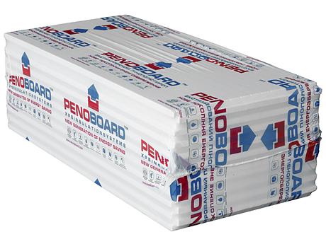 Экструдированный пенополистирол PENOBOARD 1,25 х 0,6(40)