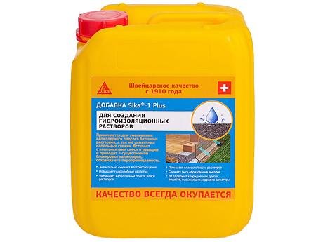 Пластифицирующе-гидрофобизирующая добавка SIKA Sika-1 5кг
