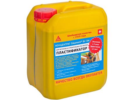 Пластификатор SIKA Sikament BV 3M 6кг
