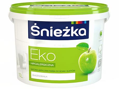 Краска водоэмульсионная матовая SNIEZKA Eko(10л)