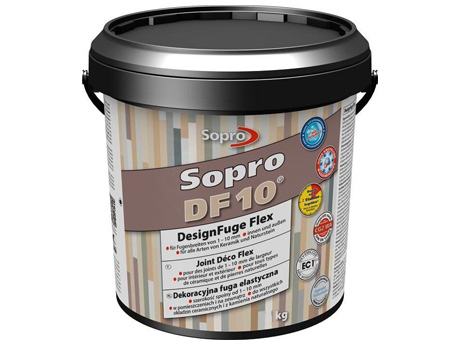 Декоративная эластичная затирка SOPRO DF 10 (2,5 кг)