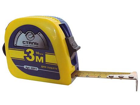 Рулетка измерительная СТАЛЬ 7,5м х 25мм